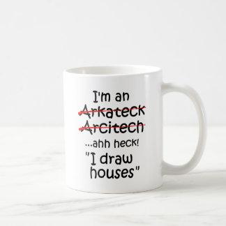 Ich bin ein Architekt Kaffeetasse