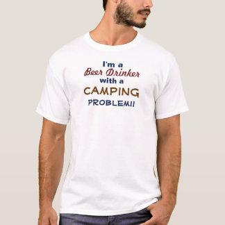 Ich bin ein Bier-Trinker mit einem T-Shirt