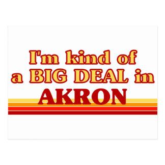 Ich bin ein bisschen eine GROSSE SACHE in Akron Postkarte