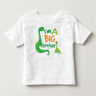 Ich bin ein großer Bruder-Jungen-Dinosaurier-T - Kleinkinder T-shirt