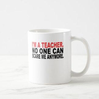 Ich bin ein Lehrer Kaffeetasse