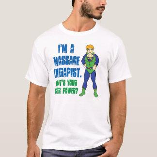Ich bin ein Massage-Therapeut. Was ist Ihr T-Shirt