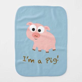 Ich bin ein Schwein! Spucktuch