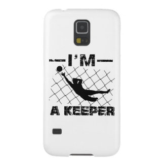 Ich bin ein Wächter - Fußball-Torhüterentwürfe Galaxy S5 Hüllen