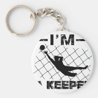 Ich bin ein Wächter - Fußball-Torhüterentwürfe Schlüsselanhänger