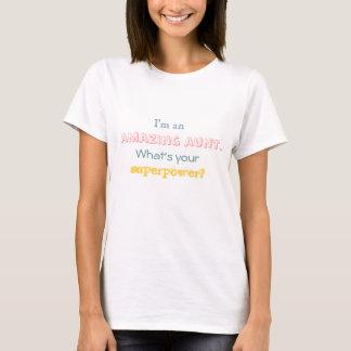 Ich bin eine fantastische Tante. Was ist Ihre T-Shirt