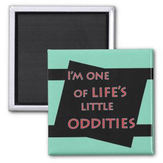 Ich bin einer des lustigen Magneten der wenig Quadratischer Magnet