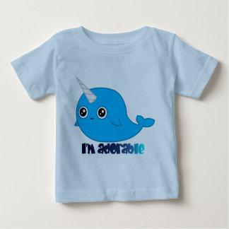 Ich bin entzückendes Narwhal Kindert-stück Baby T-shirt