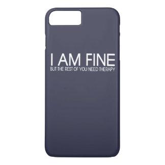 ICH BIN FEIN iPhone 8 PLUS/7 PLUS HÜLLE