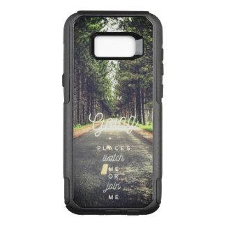 Ich bin gehende Straßen-Samsungs-Galaxie S8 der OtterBox Commuter Samsung Galaxy S8+ Hülle