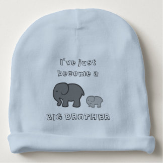 Ich bin gerade ein GROSSER BRUDER Beanie geworden Babymütze