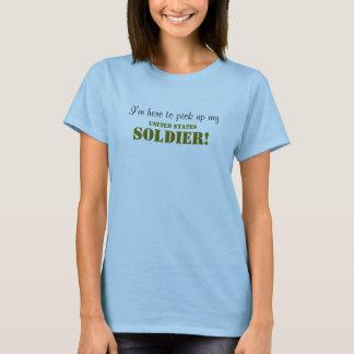 Ich bin hier, meinen SOLDATEN aufzuheben - T-Shirt