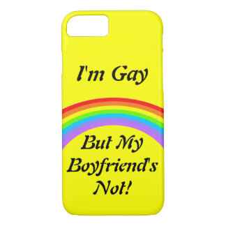 Ich bin homosexuell! Fall iPhone 8/7 Hülle