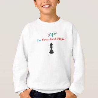 Ich bin Ihr eifriges Spieler-Schach Sweatshirt