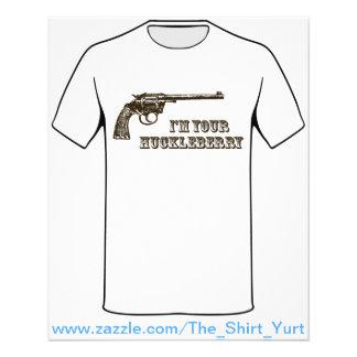 Ich bin Ihr HeidelbeerWestern-Gewehr 11,4 X 14,2 Cm Flyer