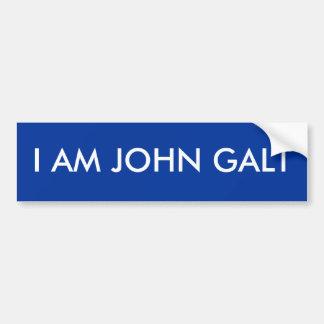 ICH BIN JOHN GALT AUTOAUFKLEBER