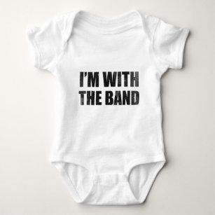 Ich bin mit dem Band Baby Strampler