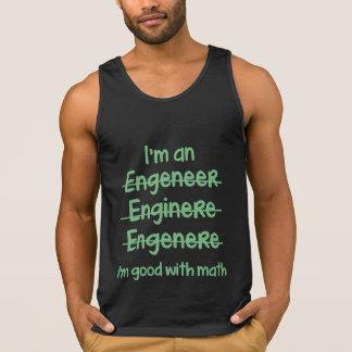 Ich bin mit Mathe gut Tank Top