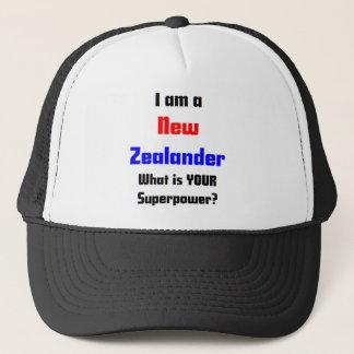 ich bin neuseeländisch truckerkappe