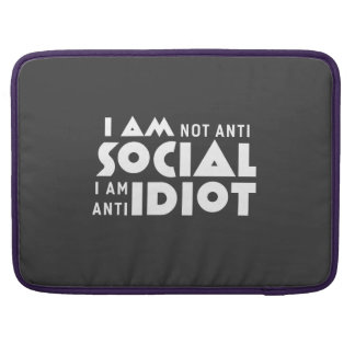 Ich bin nicht Antisoziales! Macbook Prohülse Sleeves Für MacBook Pro