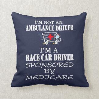Ich bin nicht ein Krankenwagenfahrer Kissen