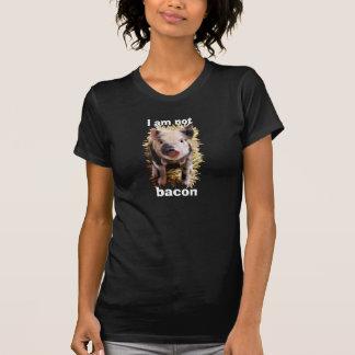 Ich bin nicht niedliches Ferkel des Speckes T-Shirt
