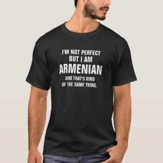 Ich bin nicht perfekt, aber ich bin armenisch und T-Shirt
