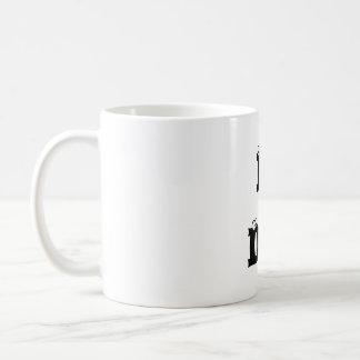 ICH BIN TAUB! Klassische Tasse, linkshändig Tasse