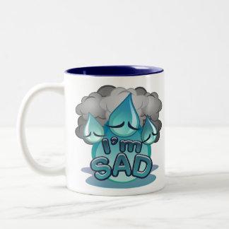 Ich bin traurige Tasse