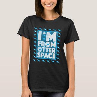 Ich bin vom Otter-Raum - lustiger Otter-Entwurf T-Shirt