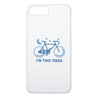 Ich bin zwei müde iPhone 7 plus hülle