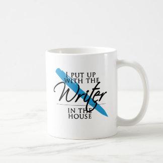 Ich duldete den Verfasser im Haus Tasse