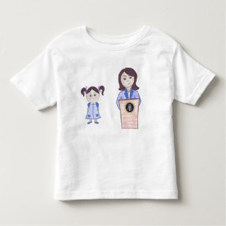 Ich gebe nicht und keine auf, Sie wenn Kleinkind T-shirt