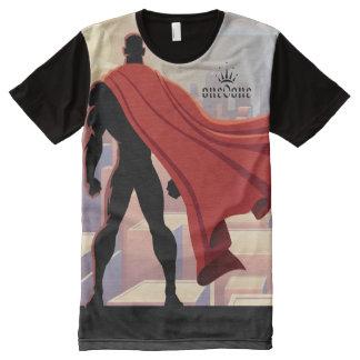 Ich gegen die Welt 101 (Superheld) T-Shirt Mit Bedruckbarer Vorderseite