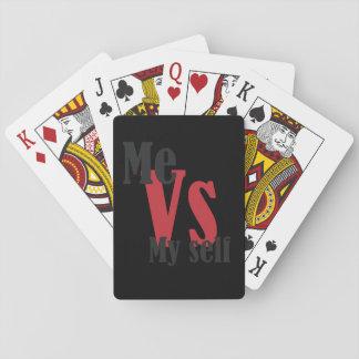 Ich gegen mein Selbst Pokerkarte