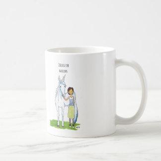 ich glaube an Einhörner Kaffeetasse