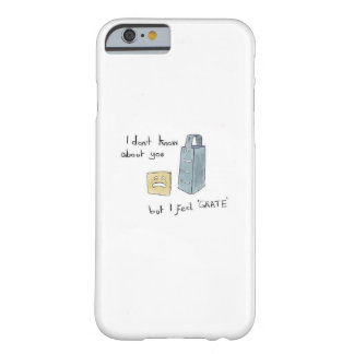 Ich glaube Gitter - lustigem Telefon-Kasten Barely There iPhone 6 Hülle