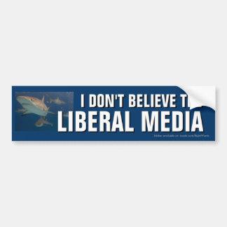 Ich glaube nicht dem liberalen autoaufkleber