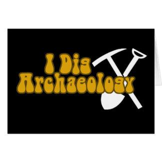 Ich grabe Archäologie Karte