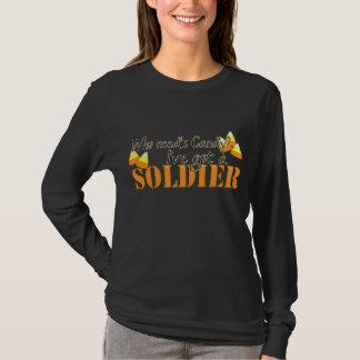 Ich habe einen Soldaten T-Shirt