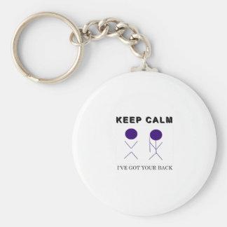 Ich habe Ihre Rückseite Schlüsselanhänger