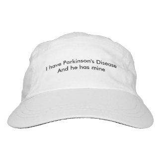 Ich habe Parkinson-Krankheit und er hat meine Headsweats Kappe