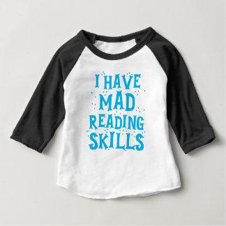 ich habe wütende Lesefähigkeiten Baby T-shirt
