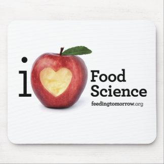 """""""Ich Herz-Ernährungswissenschaft"""" Mousepad"""