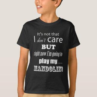 Ich interessiere mich Mandoline T-Shirt