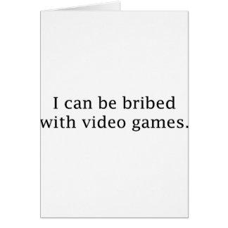 Ich kann mit Videospielen bestochen werden Karte