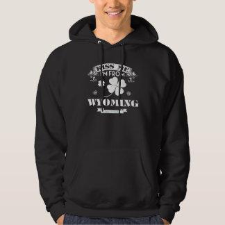 Ich komme aus WYOMING. Geschenk-Shirt Hoodie