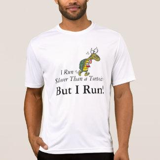 Ich lasse langsamere als eine Schildkröte laufen, T-Shirt