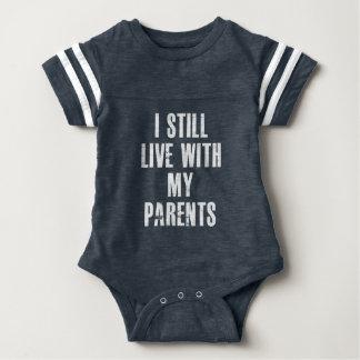 Ich lebe noch mit meinem Eltern-sportlichen Baby Strampler