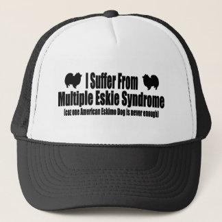 Ich leide unter mehrfachem Eskie Syndrom Truckerkappe